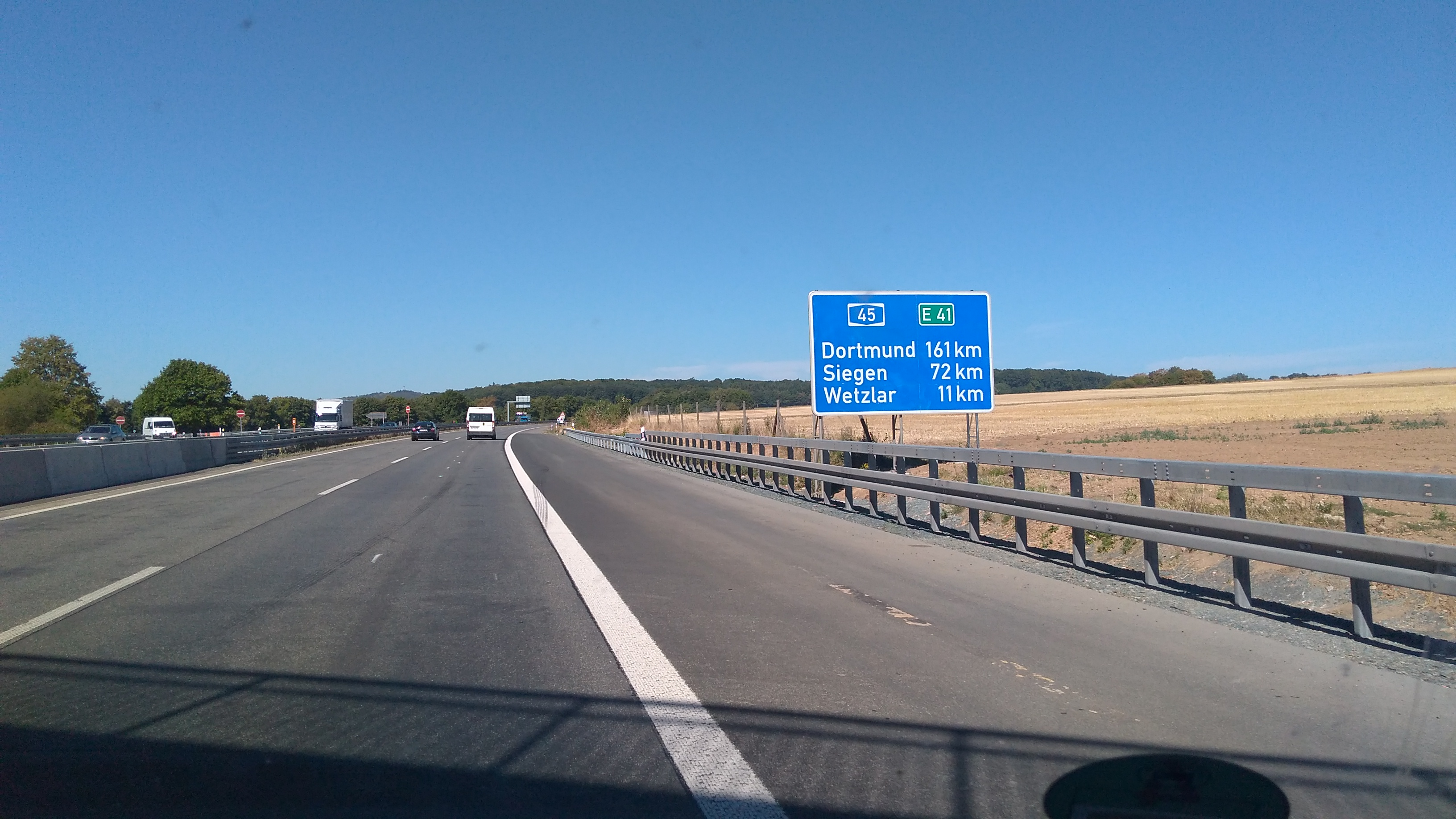 A45 Autobahn